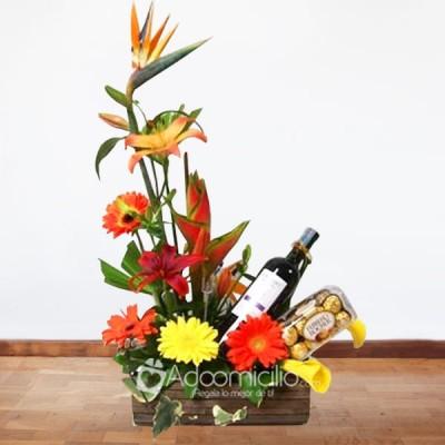 Arreglos Florales A Domicilio En Bogota Arreglo Floral Brindis